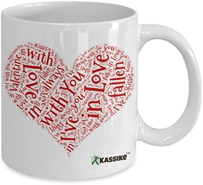 Valentines Day Boyfriend Girlfriend You Might Be A Tw-t 15oz Large Mug Cup