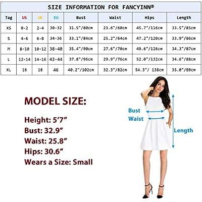FANCYINN Women Sexy Spaghetti Strap Floral Print Mini Casual Dress: Clothing