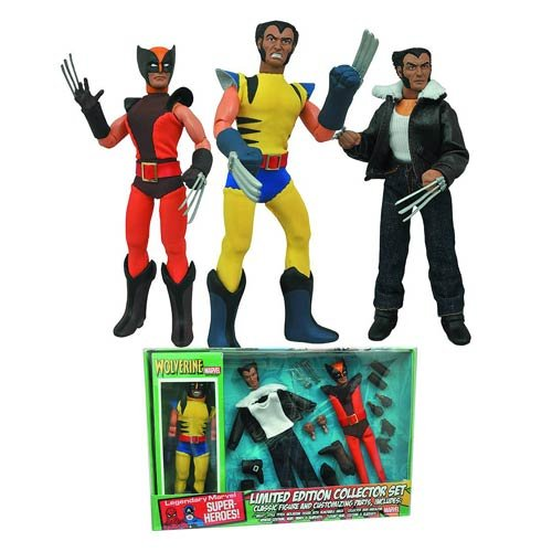 Wolverine Limited Edition 8-Inch Retro Action Figure Set