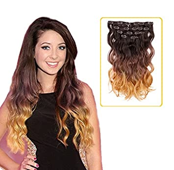 Amazon creamilytm 41027 18 wavy clip in hair creamilytm 41027 18quot wavy clip in hair pmusecretfo Gallery