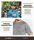 CQR Men's UPF 50+ UV Sun Protection Outdoor