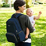 Ethan & Emma Baby Diaper Bag Backpack -Durable for