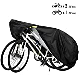 Favoto Bike Cover Outdoor Waterproof Bicycle Cover Thicken Oxford 29 Inch Windproof UV Sun Snow Dustproof with Lock Hole and Storage Bag for Mountain Road Bike City Bike Beach Cruiser Bike Sport Bike