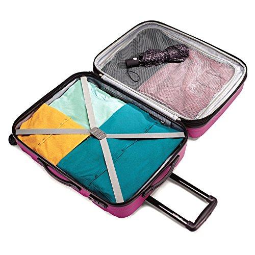 Samsonite Omni PC 28'' Spinner Luggage Radiant Pink by Samsonite (Image #2)'