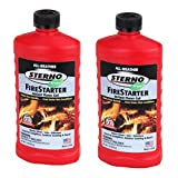 Sterno 20216 All-Weather Instant Flame Gel Fire Starter 2 Pack