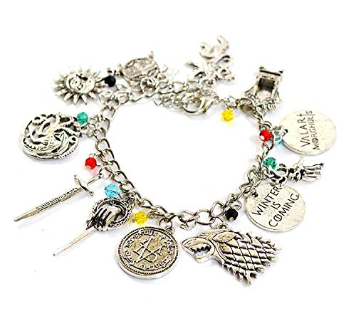 Game Charm Bracelet - Costume Jewelry Merchandise Best Holiday for Women]()