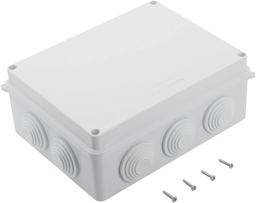 LeMotech ABS Plastic Dustproof Waterproof IP65 Junction Box