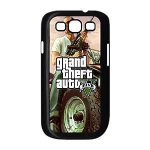 Samsung Galaxy S3 9300 Cell Phone Case Black GTA 5 Trevor On ATV GY9213456