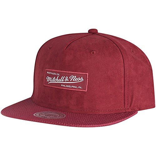 Mitchell ness bRANDED _amp; filet-rouge foncé
