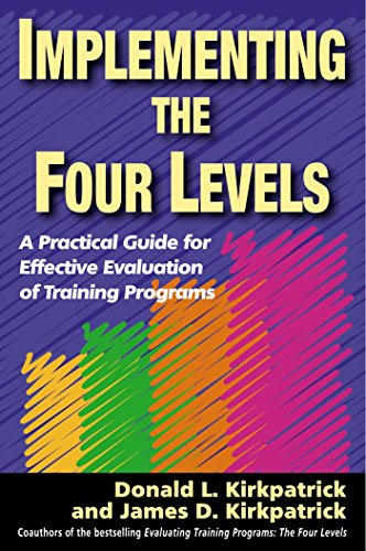 (Implementing the Four Levels: A Practical Guide for Effective Evaluation of Training)