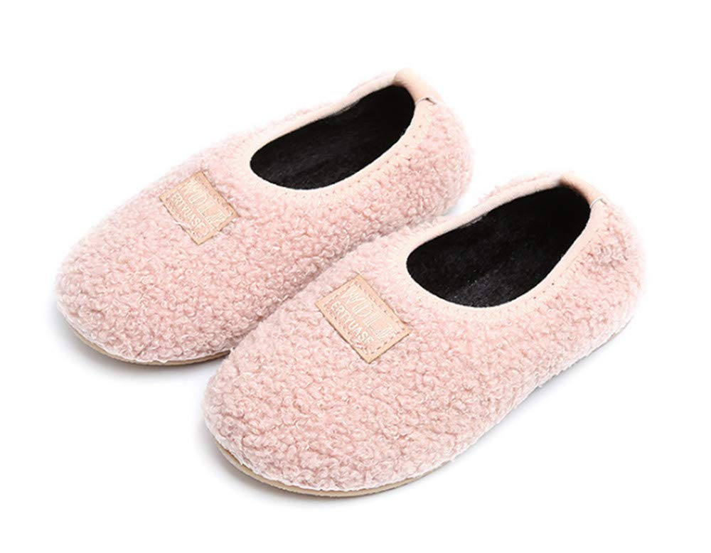 Unisex Toddler Kids Slippers for Boys and Girls Pink24