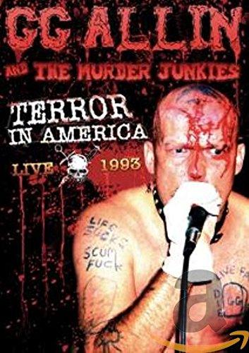 Terror In America: Live 1993 (Dvd Gg Allin)