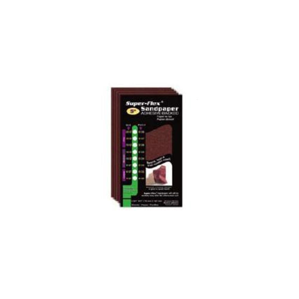 STYLE-LINE CORP INTL | Super Flex Sandpaper 11'' 150G (4pk) | SL0536