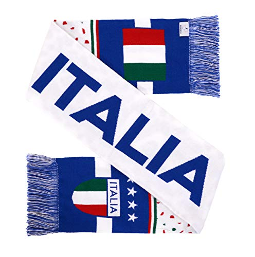 - National Soccer High-Definition HD Knit Scarf (Italy)