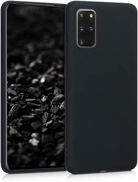 Carcasa de TPU Silicona Protector Trasero en Rosa ne/ón kwmobile Funda Compatible con Samsung Galaxy S20 Plus