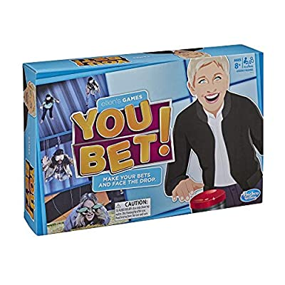 Ellen's Games You Bet Game, Ellen DeGeneres Challenge For 4 Players Ages 8 & Up: Toys & Games