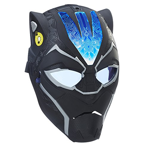Marvel Black Panther Vibranium Power FX Mask]()