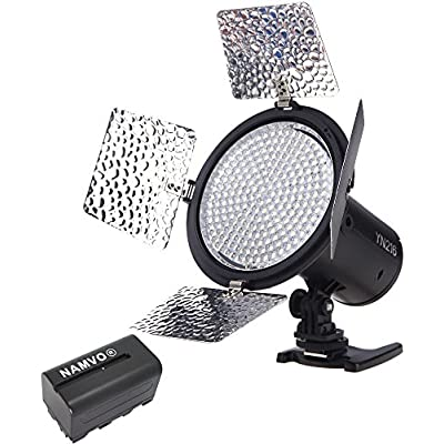 YONGNUO YN216 3200K-5500K LED Video Light Camera Shoot with Color Plat...