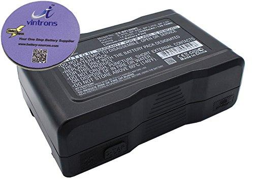 vintrons (TM) Bundle - Replacement Battery For SONY DXC-D50H, + vintrons Coaster