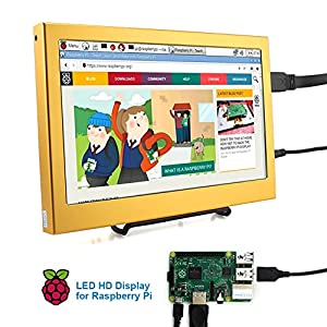 Elecrow 11.6 Inch 1920X1080 HDMI PS3 PS4 WiiU Xbox360 1080P LED Display Moniter for Raspberry Pi 3, 2 1 Model B B Plus Windows 7 8 10 System Home Office