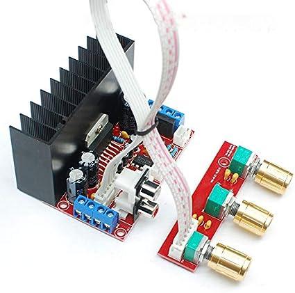 gfjfghfjfh 2.1CH Verst/ärker Single Power Computer-Super Bass 2.1 Verst/ärker-Brett 3-Kanal-Sound-Verst/ärker DIY Anzug Kits
