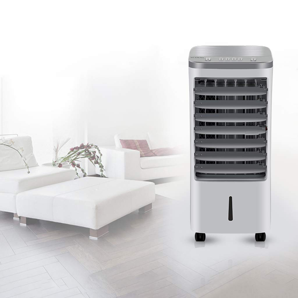 5 in 1 Compact Air Cooler//Heater//Humidifier//Fan//Purifier with Fan Filter Portable Evaporative with Fan /& Bladeless Quiet Electric Fan w//Remote Control for Indoor Home Office Dorms