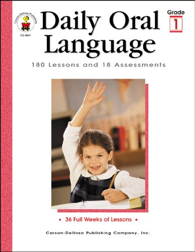 Daily Oral Language, Grade 1: 180 Lessons and