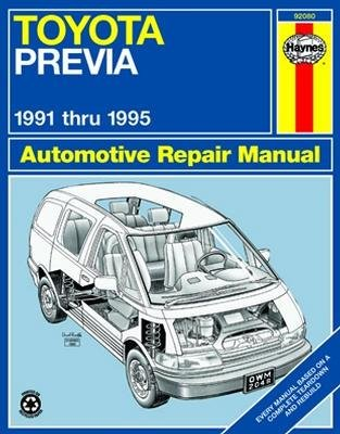 amazon com haynes toyota previa 91 95 repair manual 92080 rh amazon com 1996 Toyota Previa Custom Leasing Used Toyota Previa 1996