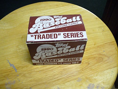 Factory Topps Traded - 1990 Topps Baseball Traded Series - Complete Factory Set - Baseball Cards
