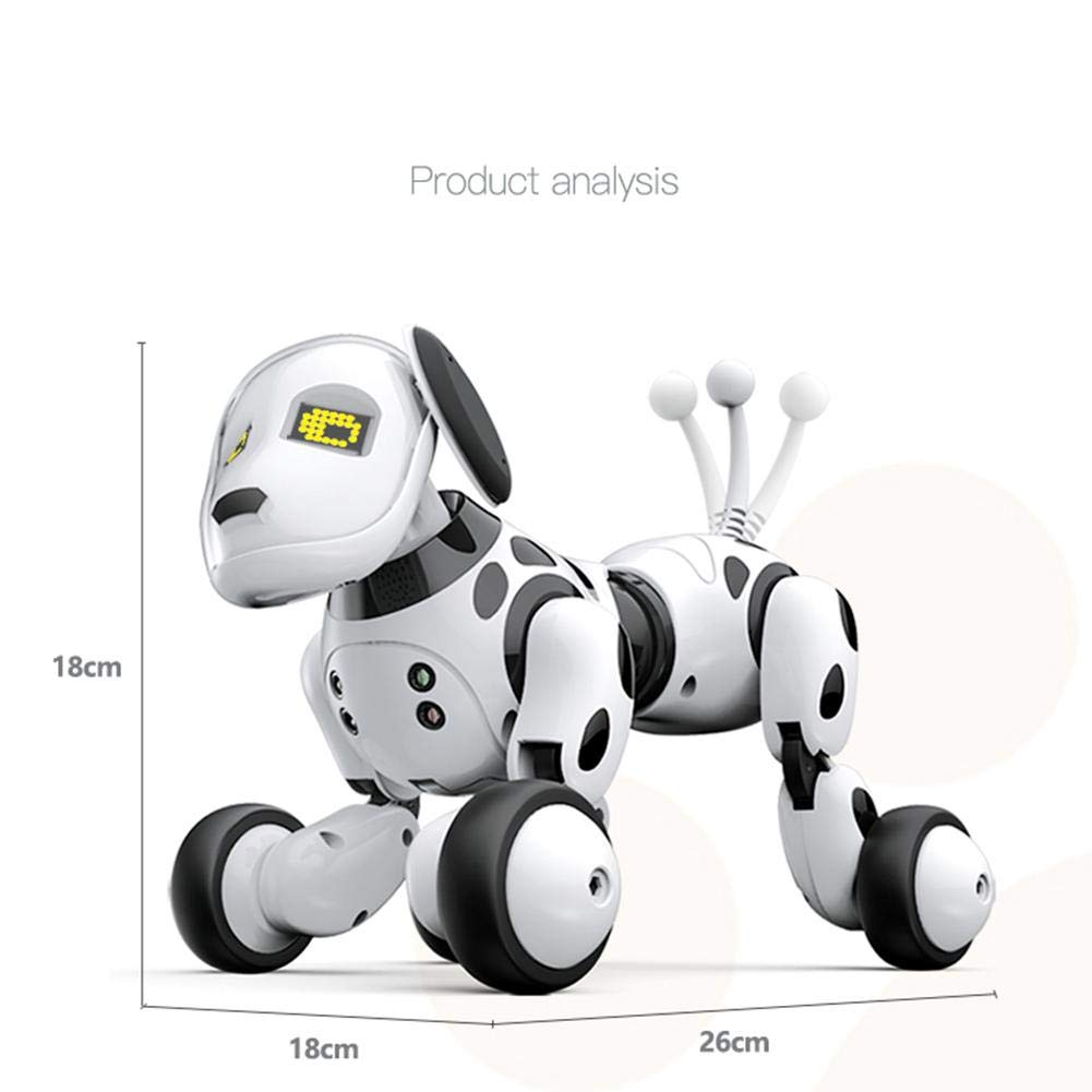 Robot Dog Wireless Remote Control Intelligent Children's Smart Toys Talking Dog Robot Electronic Pet Toy Birthday Gift by Zaote (Image #7)