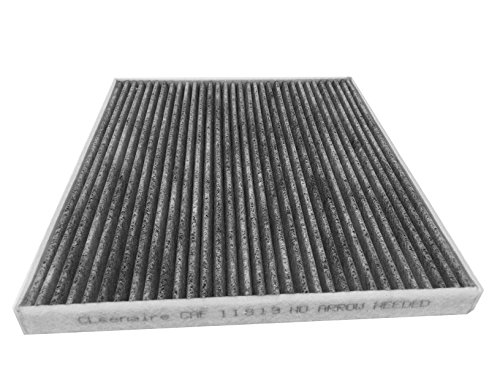 Cleenaire CAF11819 The Most Advanced Protection Against Bacteria Dust Viruses Allergens Gases Odors, Cabin Air Filter for Hyundai, Kia, GM