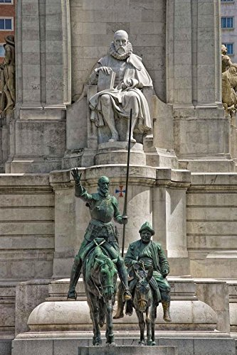 Download Don Quixote and Sancho Panza Statues in Madrid, Spain Journal: 150 Page Lined Notebook/Diary PDF ePub fb2 book