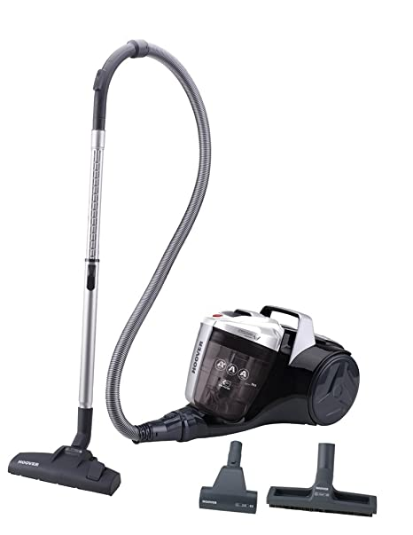 Hoover Breeze BR30PET - Aspirador trineo sin bolsa con filtro EPA, con accesorio especial para parquet y mascotas, filtros epa, 550 W, depósito 2L, ...