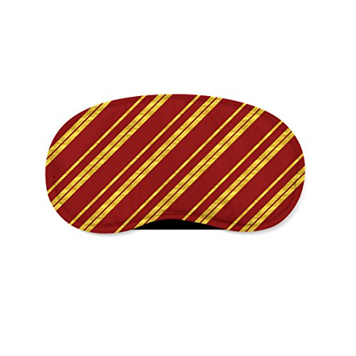 Harry Potter Inspired House Stripes Sleeping Mask Travel (Mask Sleeping Queen)