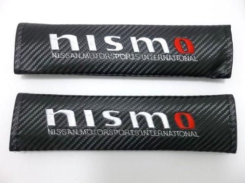 350z Nismo Carbon - SEAT BELT SHOULDER PADS CARBON FIBER Nissan NISMO