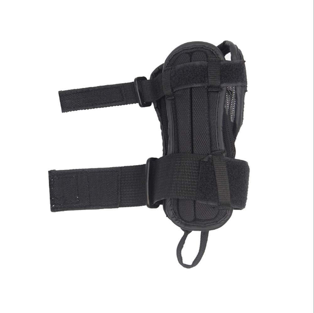Feiyue Handschütze-Adjustable Handguards für Skis-Skateboards-Pulleys-Unisex