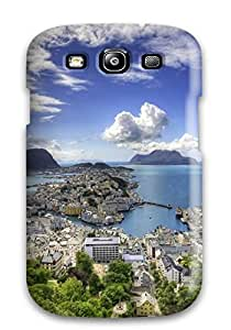 Hot Panoramic First Grade Tpu Phone Case For Galaxy S3 Case Cover