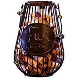 Best Home-X Wine Racks - Home-X Hanging Lantern Style Cork Holder. Wine Cork Review