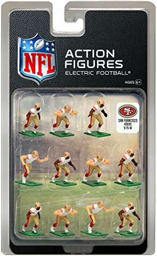 San Francisco 49ers Away Jersey NFL Action Figure Set (San Francisco 49ers Miniature)