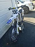 Mx & ATV Number Plate Decals with Your Name or