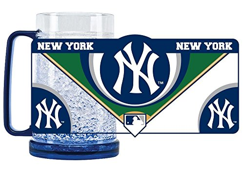 yankees crystal freezer mug - 1