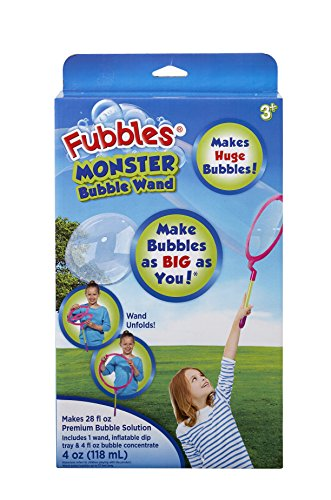Little Kids Fubbles Monster Bubble Maker Wand by Little Kids