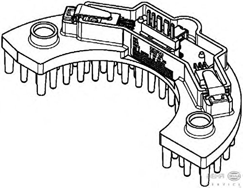 Peugeot 307 5hl351321561 Heater Blower Resistor By Hella Amazon Co