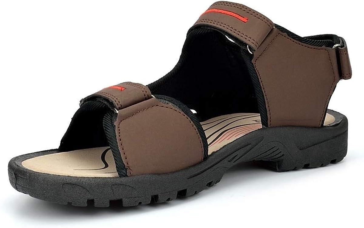 PDQ Sandalias de Material Sint/ético para Hombre