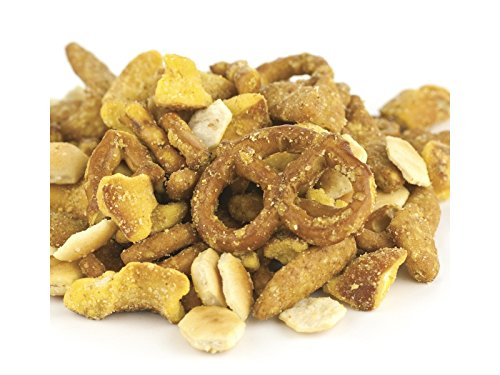 Sesame Pretzel Rings - YANKEETRADERS Tangy Honey Mustard Pub Mix Combo, 2 Pounds