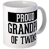 CafePress - Proud Grandpa Of Twins - Unique Coffee Mug, Coffee Cup