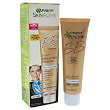 Garnier Skin Renew BB Cream Miracle Skin Perfector Combination to Oily Skin. Light/Medium, Mattifying, 60 ml