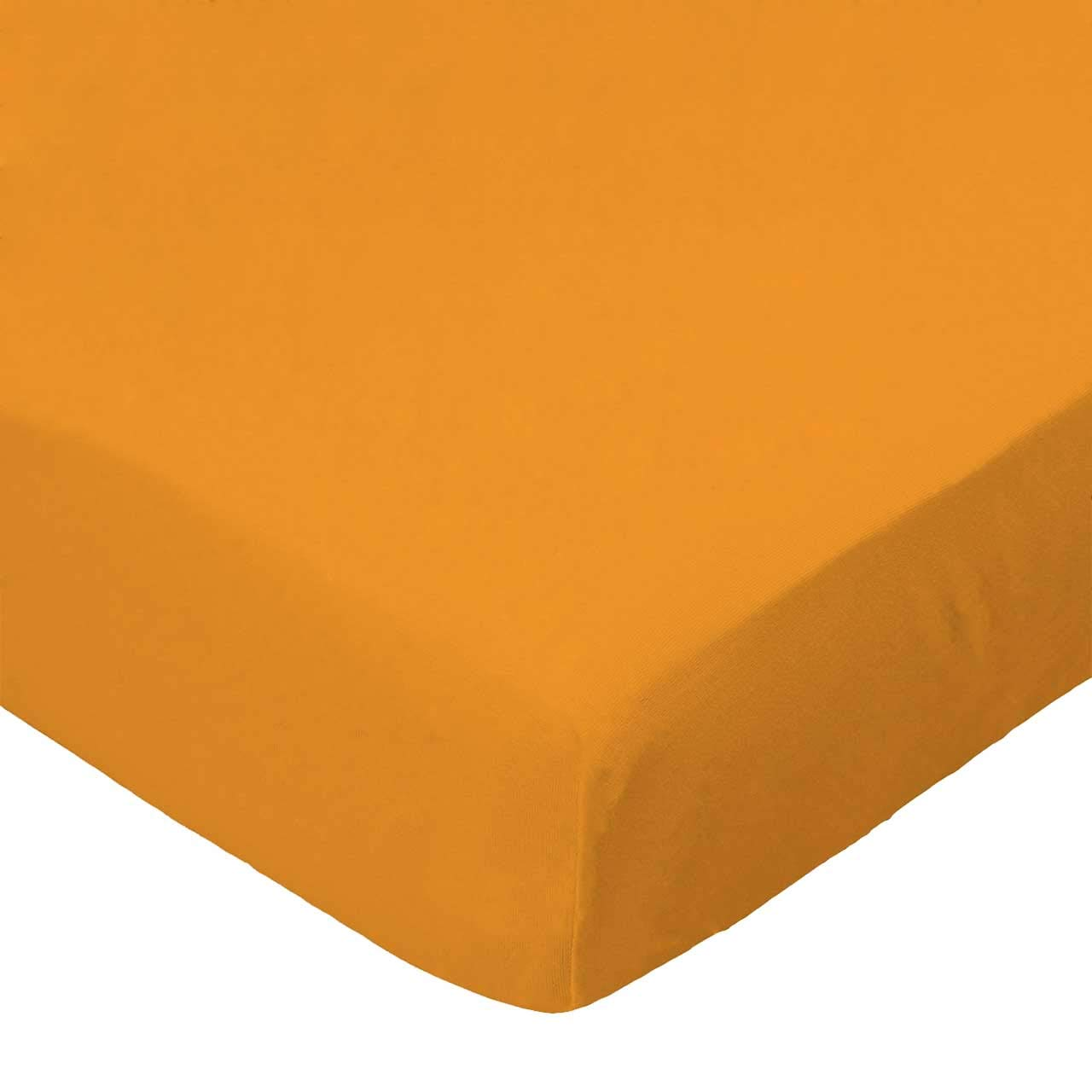 SheetWorld Fitted Bassinet Sheet - Solid Orange Woven - Made In USA by sheetworld   B004LC35C8