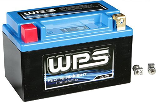 WPS Featherweight Lithium Battery HJTX14H-FP-IL by WPS Western Power Sports
