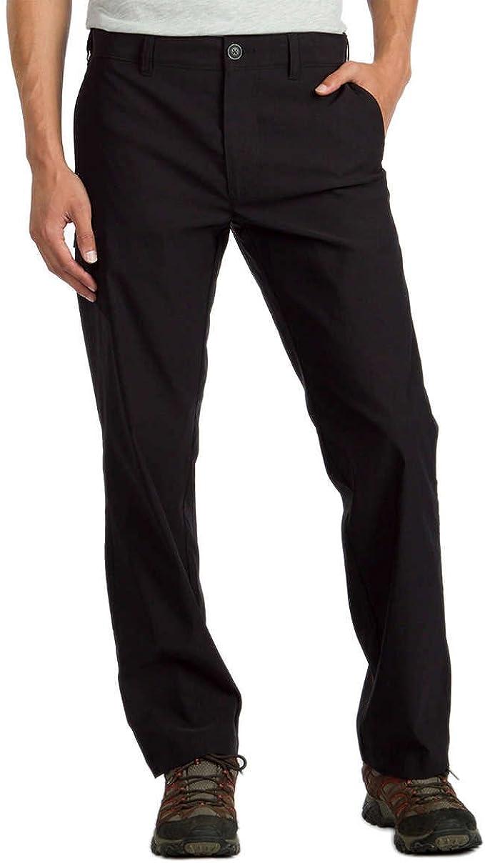 Kirkland Signature Men/'s 5 Pocket Brushed Cotton Pants British Khaki 40X34